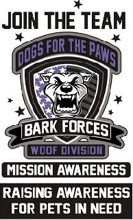 Dogs for the Paws Launches Bark Forces: Mission Awareness