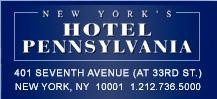 Hotel Pennsylvania Named Pet-Friendly Hotel of the Year