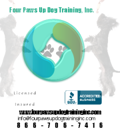Halloween Dog Bite Prevention Tips from Four Paws Up Dog Training, Inc.