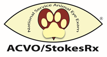 More than 7,000 Service Animals Receive Free, Sight-Saving Eye Exams at 8th Annual ACVO®/Stokes Pharmacy National Service Animal Eye Exam Event