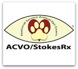 Nearly 7,500 Service Animals Received Free, Sight-Saving Eye Screenings  during 10th Anniversary of Annual ACVO®/StokesRx National Service Animal Eye Exam Event