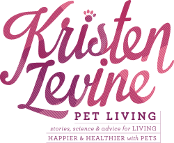 Kristen Levine Pet Living Logo on PetPR.com