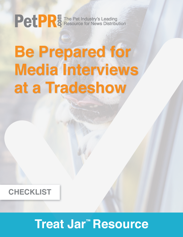 Be Prepared for Media Interviews at a Tradeshow