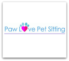 Paw Love Pet Sitting logo box