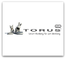 Torus white logo box