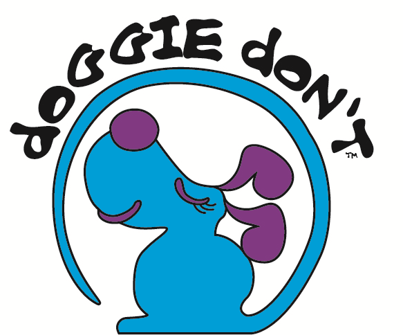 DOGGIE DON'T Logo on PetPR.com